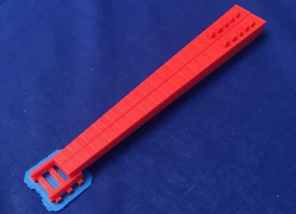 3D プリンターでの出力例