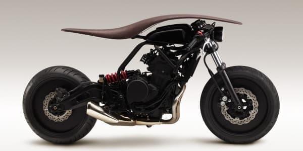 Kazuki Kashiwase さんが提案したのはバイク