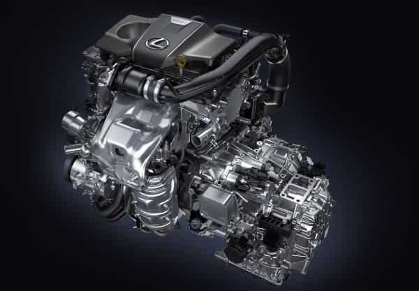 「RX200t」に搭載された直列4気筒 DOHC インタークーラー付き直噴ターボエンジン