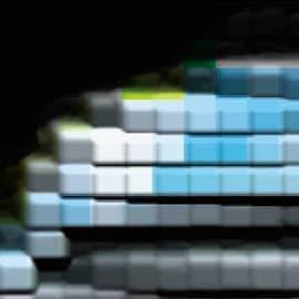 エクステリア、インテリアのすべてが8ビットで表現されている