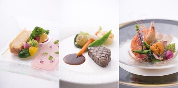 披露宴はホテル。フランス料理か和洋折衷かが選べるとか