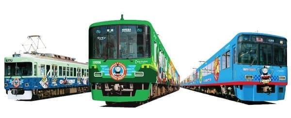 京阪電車といえばトーマスの列車ラッピングに