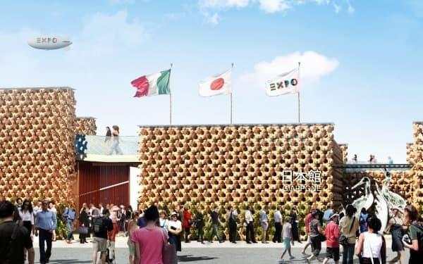 イタリア・ミラノ万博の日本館(イメージ)