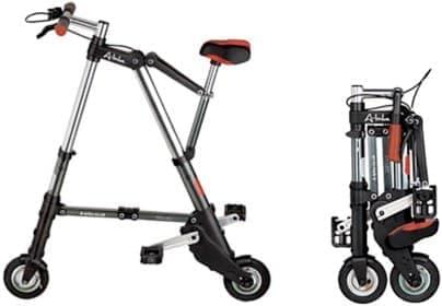 英国の発明家クライブ・シンクレアさんによる「A-Bike」