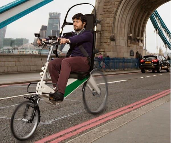 """""""世界一安全な電動アシスト自転車""""「Babel Bike」"""