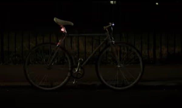 「Life Paint」を自転車本体にスプレーした例