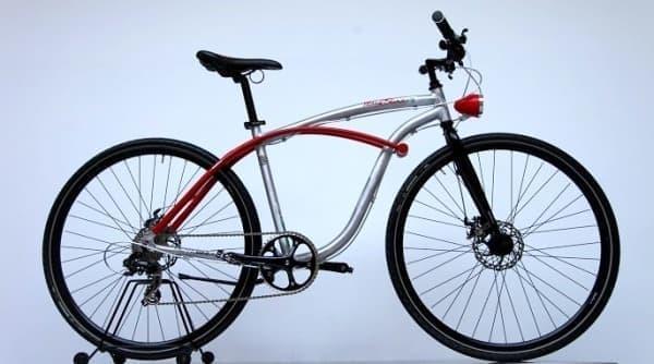 """""""絶対盗まれない""""自転車「FrameBlock」。"""