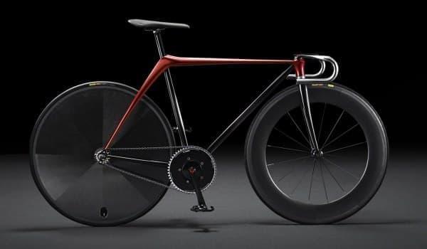 「Bike by KODO concept」は、トラックレーサー