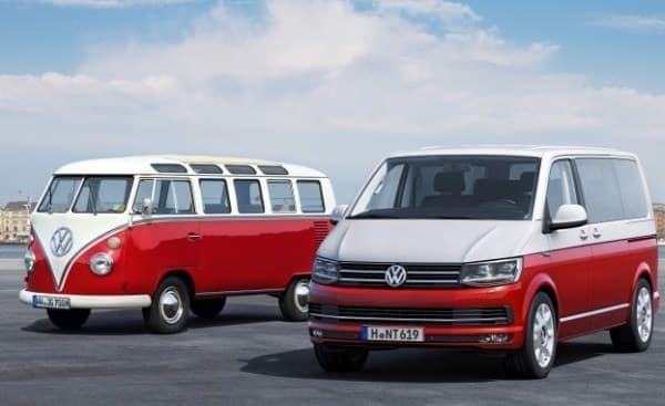 VW が第6世代のトランスポーター「T6」を発表