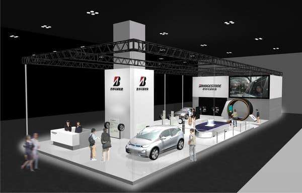 上海モーターショーでは ologic 技術を生かすクルマの例として登場