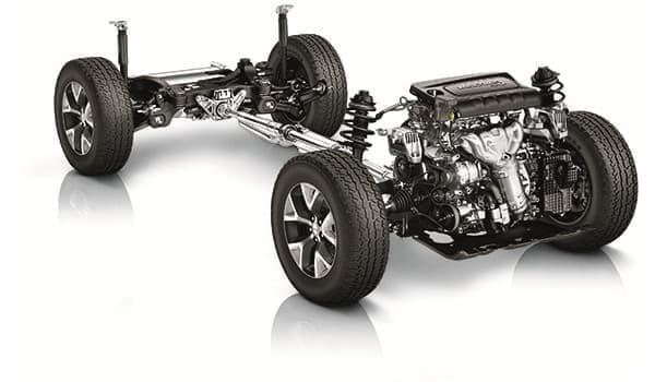 オンデマンド式 4WD システムを採用