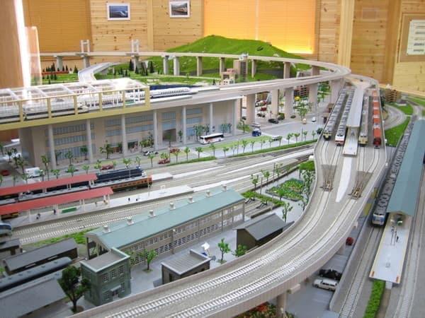 鉄道模型館や