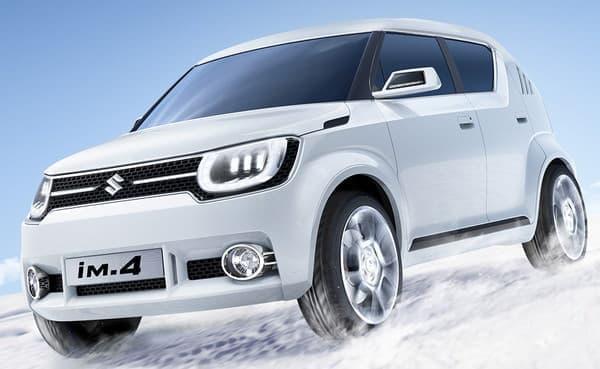 スズキ、上海モーターショーにコンセプトカー2車種を出品  画像はコンパクト SUV「iM-4」