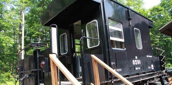 引退した鉄道車両の展示