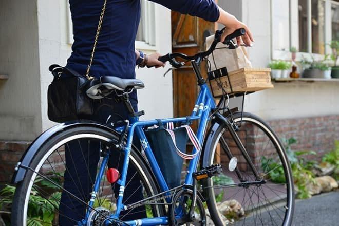 自転車通勤者、意外と多いんです