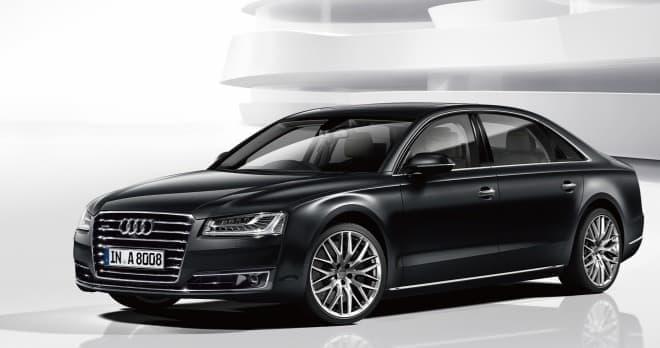 ショーファーモデル「Audi A8 L」の限定モデル「Audi A8 L Chauffeur Special edition」