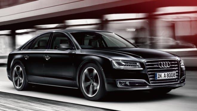 アウディのフラッグシップ「Audi A8」に  ブラックの限定モデル「Audi A8 Sport edition」