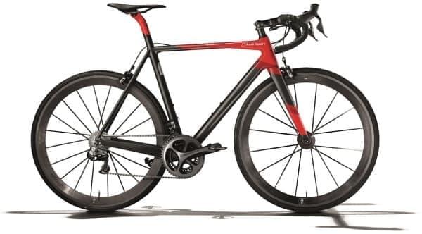 限定50台の自転車「Audi Sport Racing Bike」日本公開