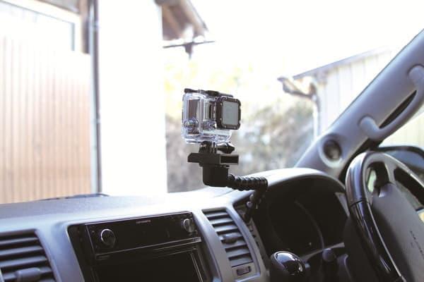 GoPro をかっこよく?車内に設置できる