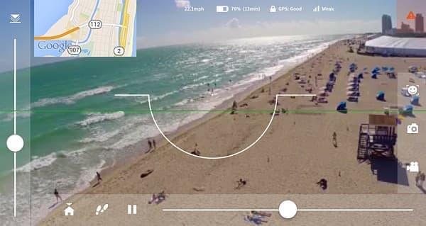 スマートフォンからのビデオ映像をリアルタイムで視聴可能
