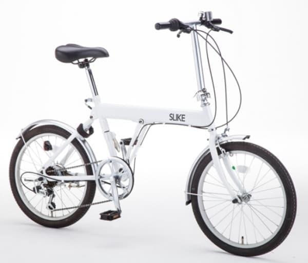 """""""スライドさせて畳む""""折り畳み自転車「SLIKE(スライク)」"""