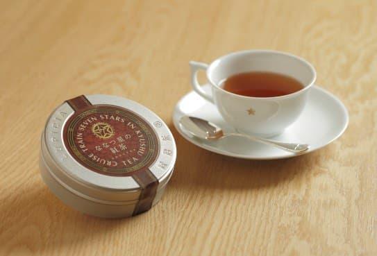 ななつ星の紅茶、カップは抽選です