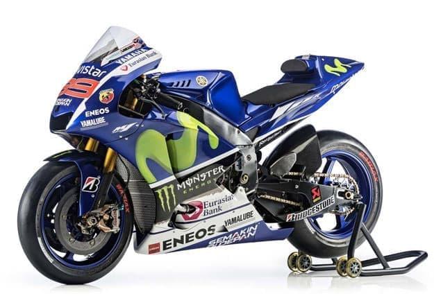 参考画像:MotoGP マシン「YZR-M1」