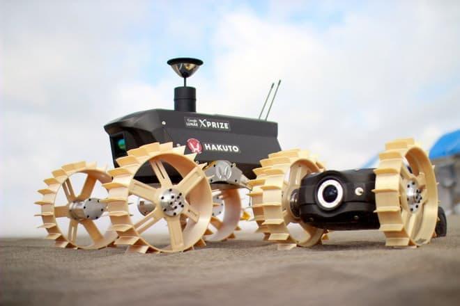 ハクトが開発している月面探査機