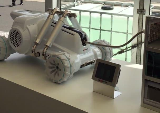 ハボットミニ。小さな消防車のコンセプトモデル
