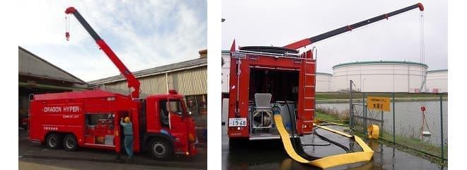 大容量送水ポンプ車(画像提供:総務省消防庁)