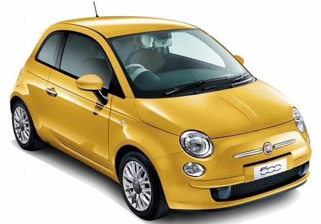チンクエチェント夏の限定車「Fiat500/500C Gialla(ジャッラ)」