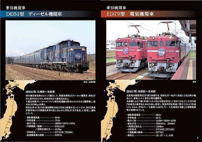 JR 北海道監修のオフィシャルブックレット