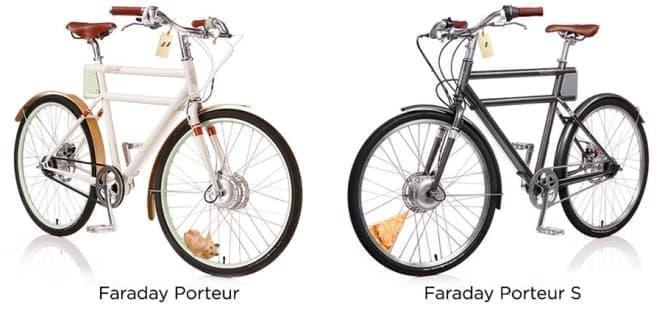 「PORTEUR」(左)と「PORTEUR S」(右)