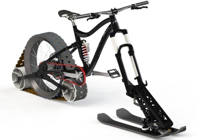雪道をものともしない!  雪上自転車製作プロジェクト「Avalanche」