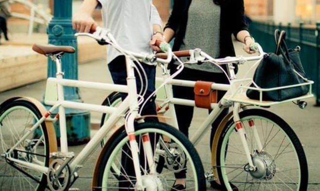 一見、電動アシスト自転車とはわからないデザインが特徴