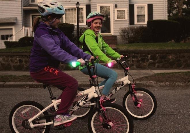 子どもの自転車にこそ取り付けてあげたい!