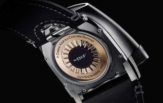高価な MB&F の時計を買えるのは、間違いなく大人だ