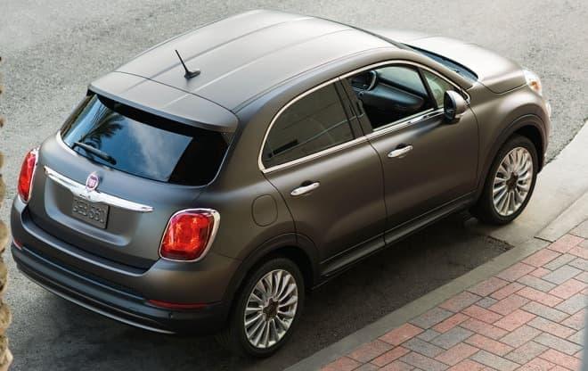 参考画像:「Fiat 500X」リアビュー(画像は米国仕様車)