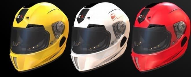 先進的なバイク用ヘルメット「iC-R」