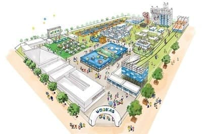 夏休み期間限定のテーマパーク「UGOKAS」