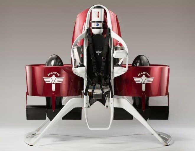 Martin Aircraftが開発中の「Martin Jetpack」