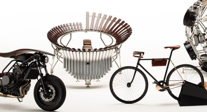 「プロジェクト アーメイ」が展示される「Two Yamahas, One Passion〜デザイン展 2015〜」開催