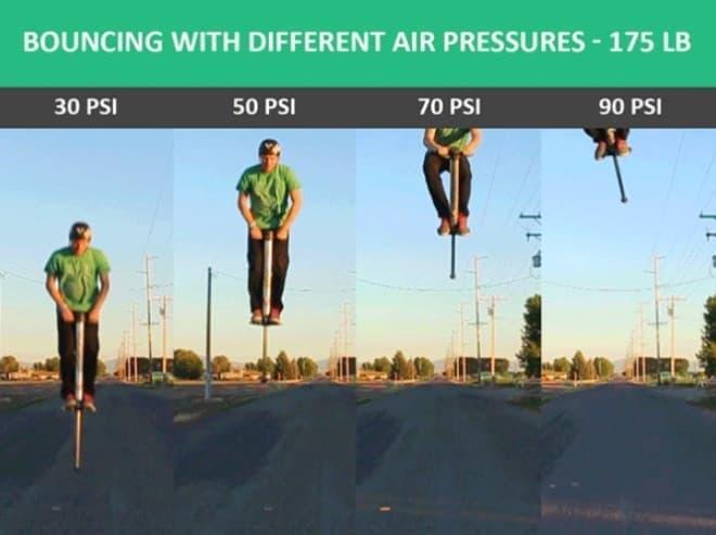ジャンプできる高さを調節できます