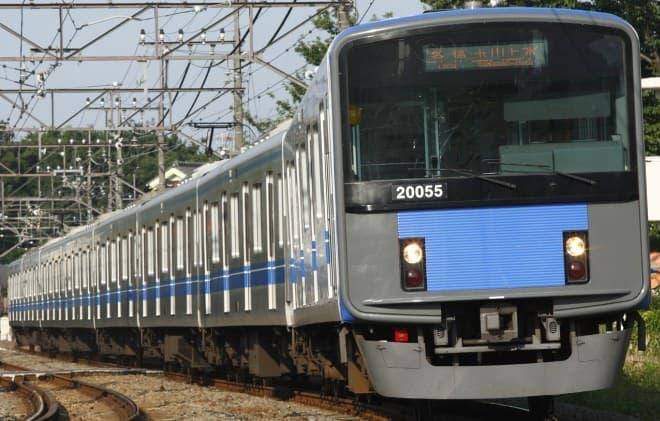 「新銀河鉄道999電車」のベースとなる20000系車両