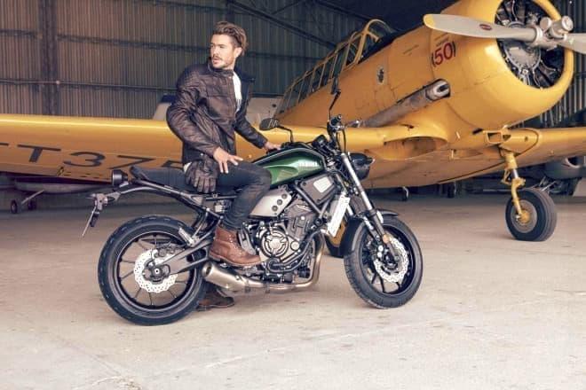 ヤマハがスポーツヘリテージバイク「XSR700」を発表