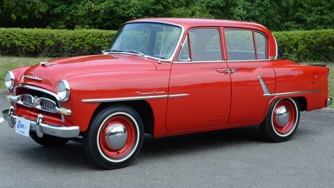 展示車の1つ、初代 トヨペット クラウンRS-L、1958年式 (写真提供:トヨタ博物館)