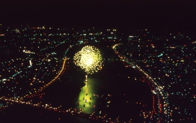 空から花火大会も見られるかも
