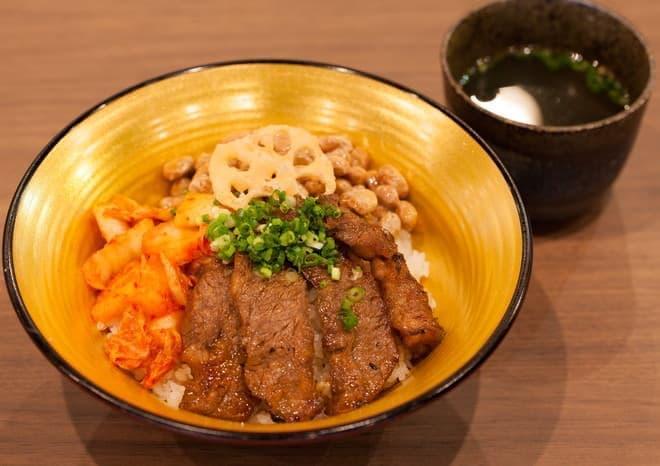 納豆キムカル丼