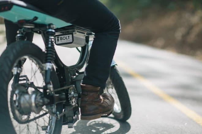 バッテリーが切れたら、自転車のように走ろう!