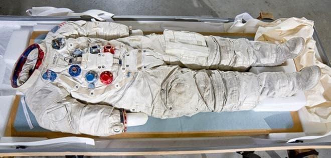 その宇宙服の現在の状況